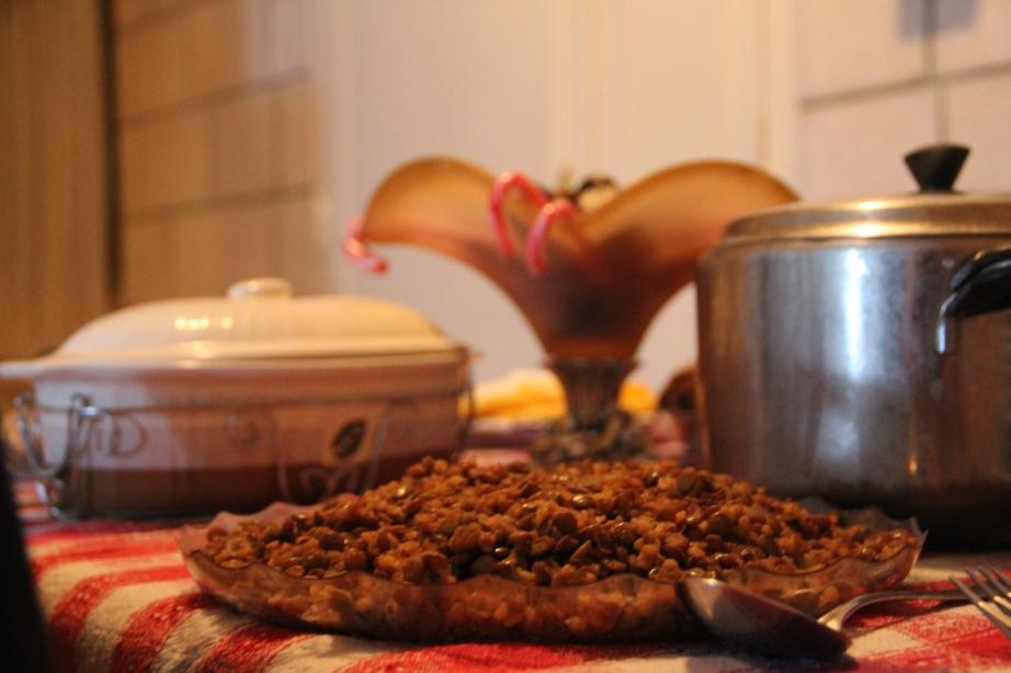 No better Christmas food than mjadara.