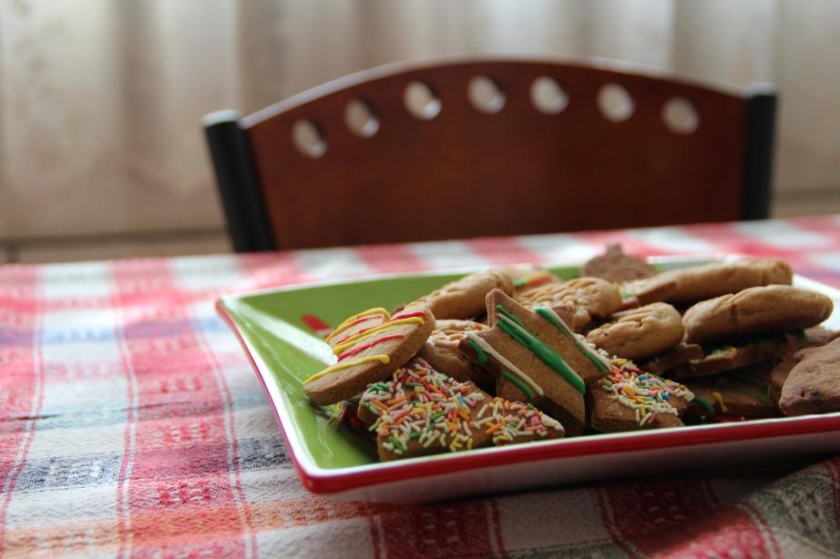 Christmas Eve cookies.