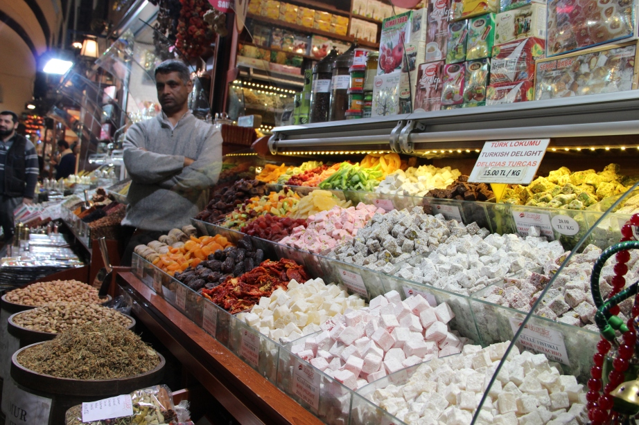 Istanbul Market. Can't get enough of this stuff.