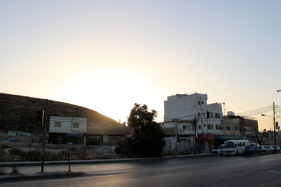 Beautiful sunsets in Irbid - Northern Jordan.