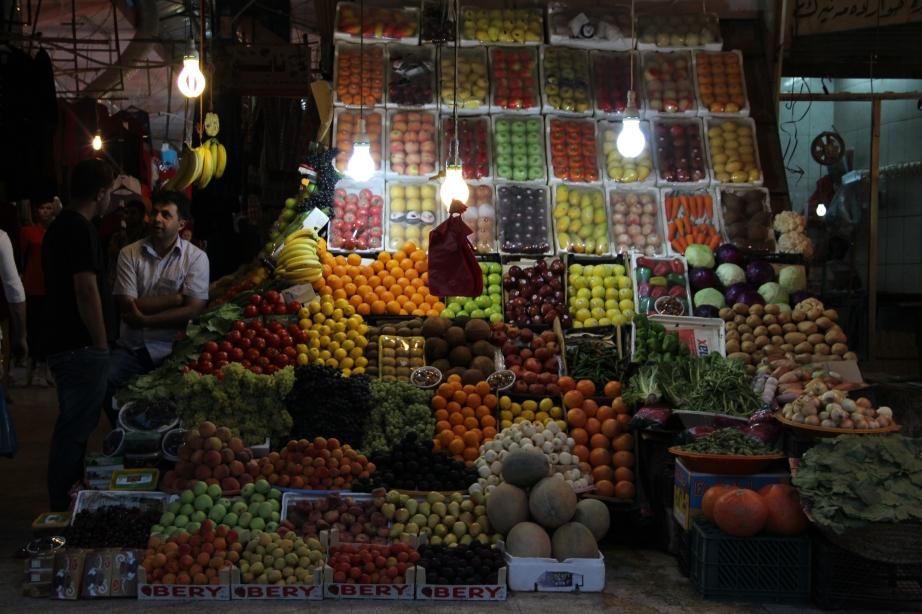 Fruit stand, Erbil.
