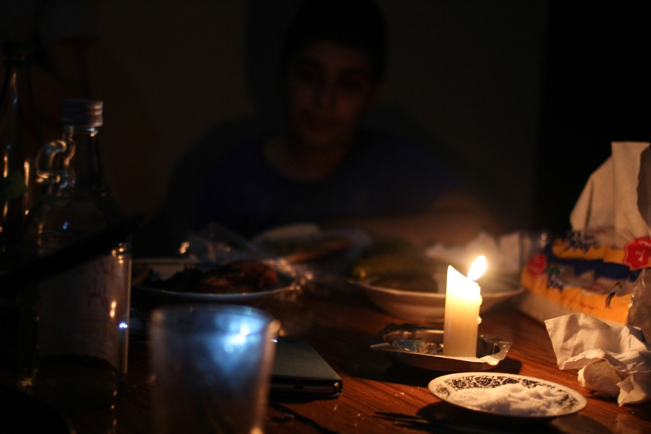 Power outages, the Lebanese life.