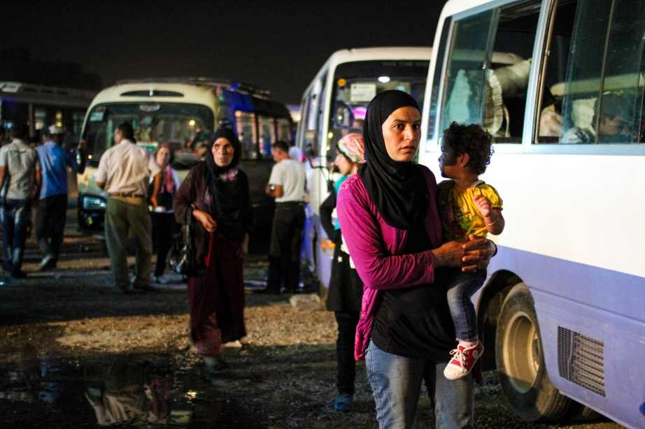 Kalak checkpoint. Northern Iraq.