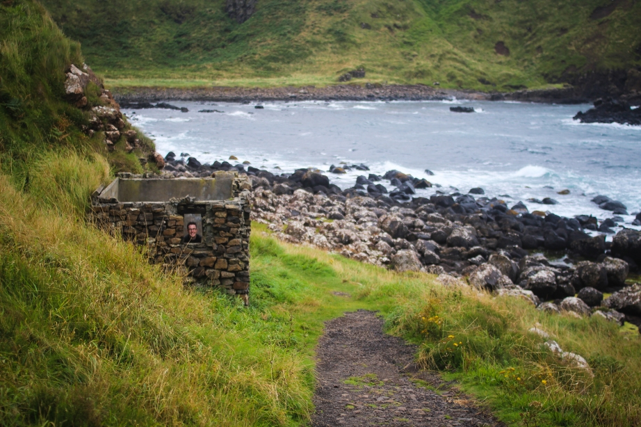 The best place to play hide and seek: Giant's Causeway