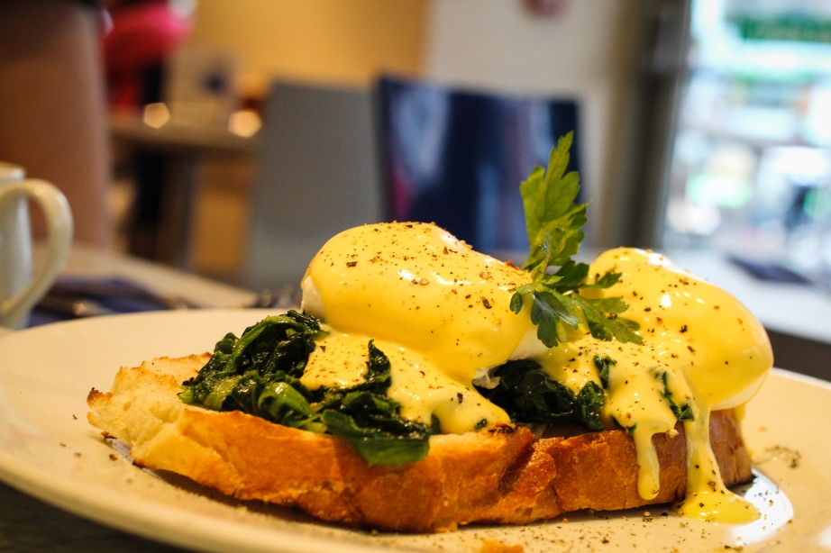 throwback: eggz benedict in Dublin
