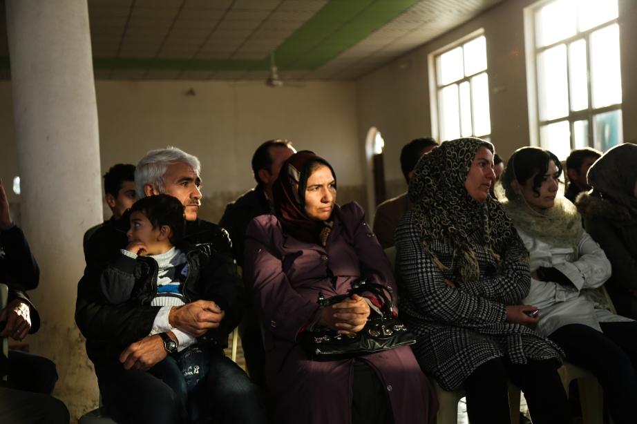 Community Mtgs. Daratu district, Erbil.