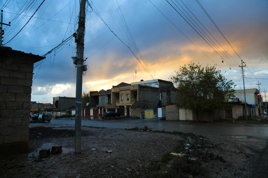Sunset in Daratu.